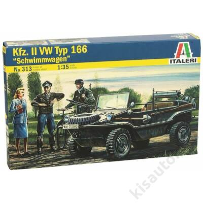 "Italeri 1:35 Kfz. II VW Typ 166 ""Schwimmwagen"""