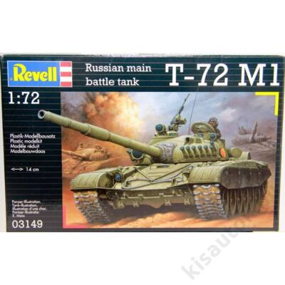 Revell 1:72 Russian main battle tank T-72 M1