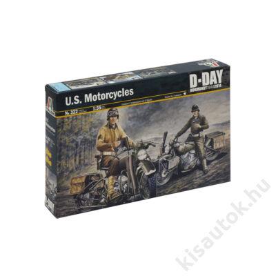 Italeri 1:35 U.S. Motorcycles Harley Davidson D-Day