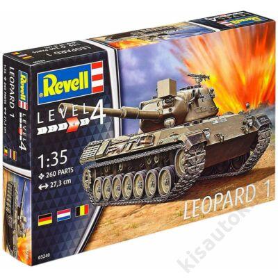 Revell 1:35 Leopard 1 tank makett