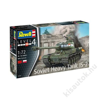 Revell 1:72 Soviet Heavy Tank IS-2