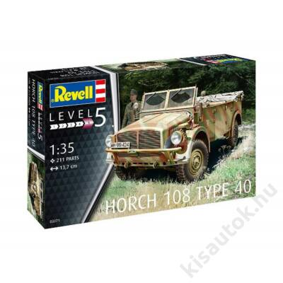 Revell 1:35 Horch 108 Type 40