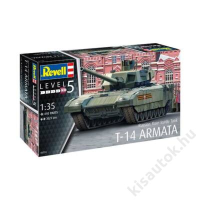 Revell 1:35 Russian Main Battle Tank T-14 Armata tank makett