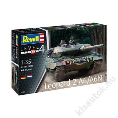 Revell 1:35 Leopard 2 A2/A6NL tank makett