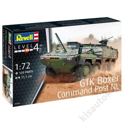 Revell 1:72 GTK Boxer Command Post NL tank makett