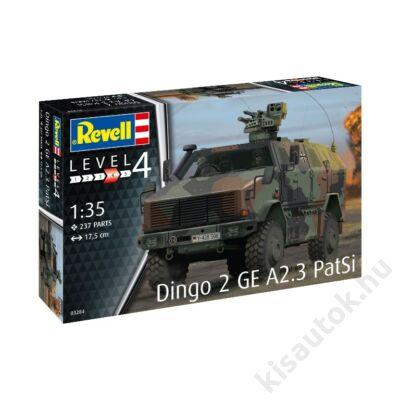 Revell 1:35 Dingo 2 GE A2.3 PatSi harcijármű makett