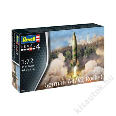Revell 1:72 German A4/V2 Rocket
