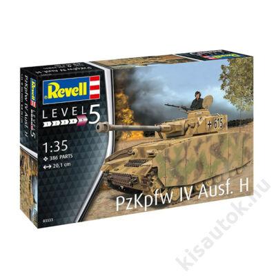 Revell 1:35 PzKpfw IV Ausf. H tank makett