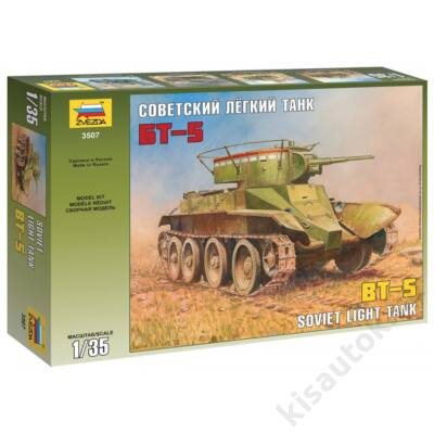 Zvezda 1:35 Soviet Light Tank BT-5