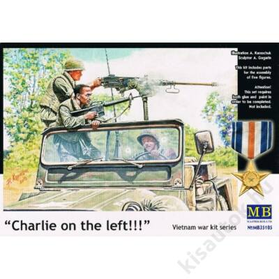 "MasterBox 1:35 ""Charlie on the left!!!"" Vietnam war series"