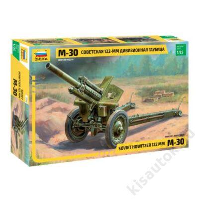 Zvezda 1:35 Soviet Howitzer 122mm M-30 tank makett