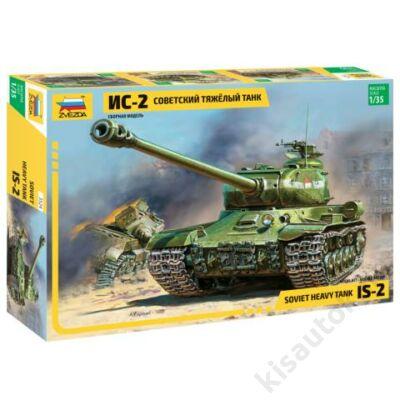 Zvezda 1:35 Soviet Heavy Tank IS-2