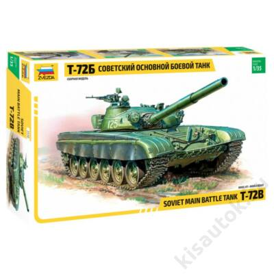 Zvezda 1:35 Soviet Main Battle Tank T-72B