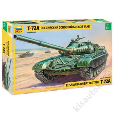Zvezda 1:35 Russian Main Battle Tank T-72A