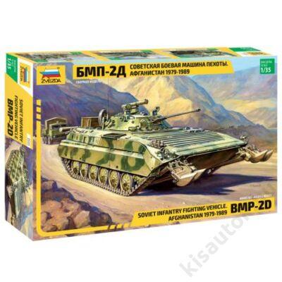 Zvezda 1:35 Soviet Infantry Fighting Vehicle BMP-2D (Afghanistan 1979-1989) tank makett