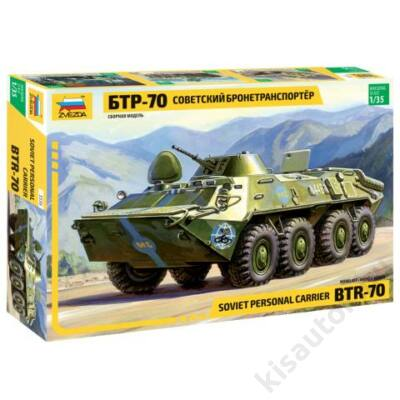 Zvezda 1:35 Russian Personnel Carrier BTR-70
