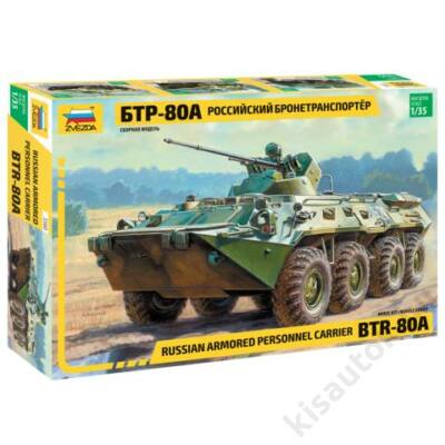 Zvezda 1:35 Russian Armored Personnel Carrier BTR-80A