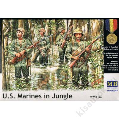 MasterBox 1:35 U.S. Marines in Jungle