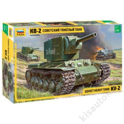Zvezda 1:35 Soviet Heavy Tank KV-2
