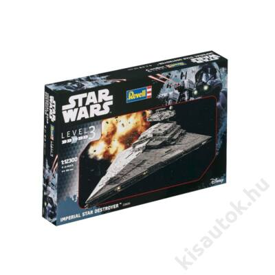 Revell 1:12300 Imperial Star Destroyer Star Wars makett