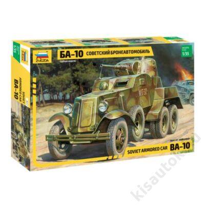 Zvezda 1:35 Soviet Armored Car BA-10