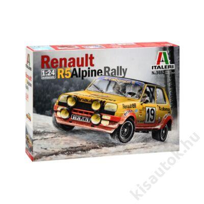 Italeri 1:24 Renault R5 Alpine Rally