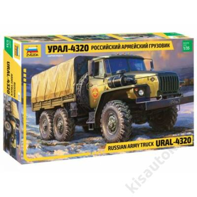 Zvezda 1:35 Russian Army Truck Ural-4320
