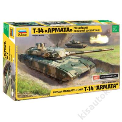 "Zvezda 1:35 Russian Main Battle Tank T-14 ""Armata"" tank makett"