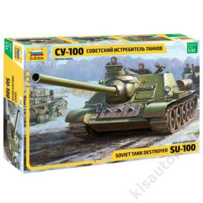 Zvezda 1:35 Soviet Tank Destroyer SU-100