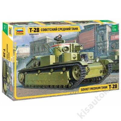 Zvezda 1:35 Soviet Medium tank T-28