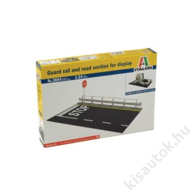 Italeri 1:24 Guard rail and road section for display