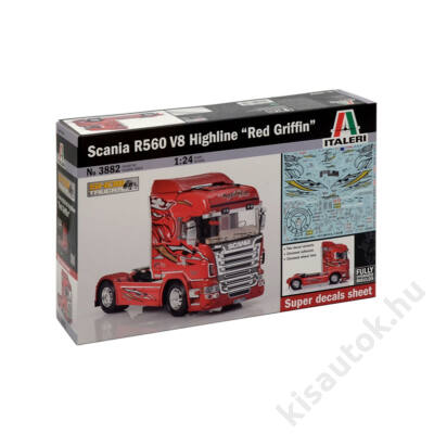 """Italeri 1:24 Scania R560 V8 Highline """"Red Griffin"""""""