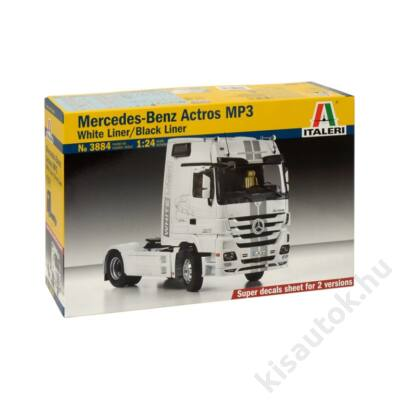 Italeri 1:24 Mercedes-Benz Actros MP3 White Liner / Black Liner