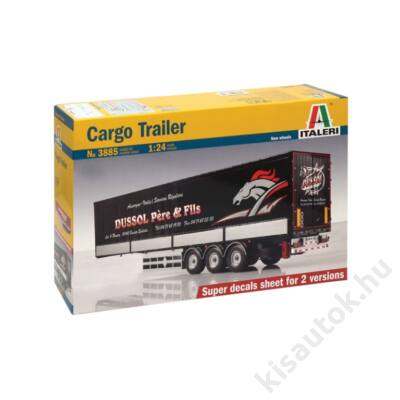 Italeri 1:24 Cargo Trailer kamion makett