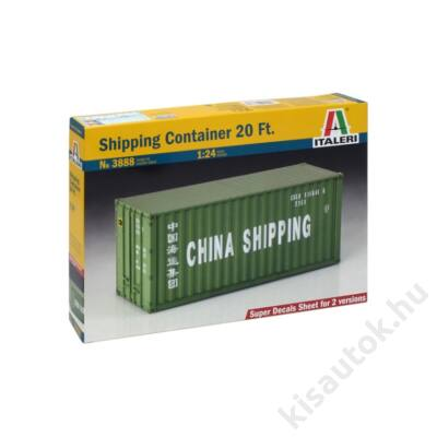 Italeri 1:24 Shipping Container 20 ft.
