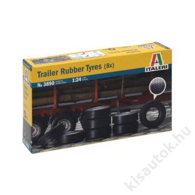Italeri 1:24 Trailer Rubber Tyres (8x)