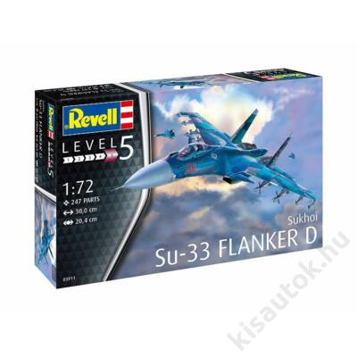 Revell 1:72 Sukhoi Su-33 Flanker D