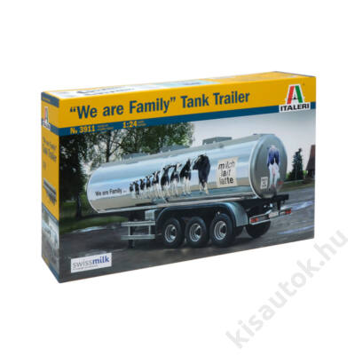 "Italeri 1:24 ""We are Family"" Tank Trailer"