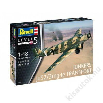 Revell 1:48 Junkers Ju52/3mg4e Transport repülő makett