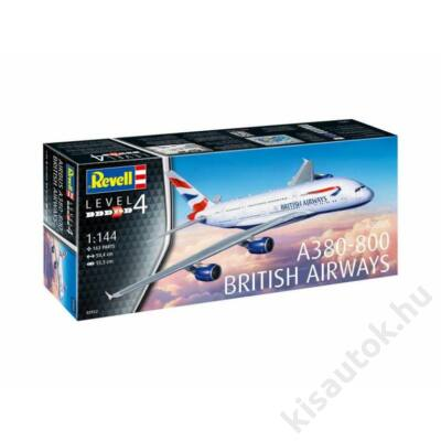 Revell 1:144 Airbus A380-800 British Airways