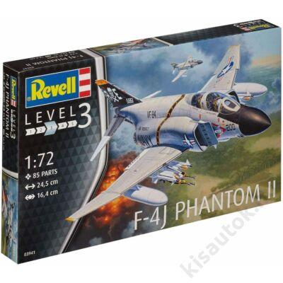 Revell 1:72 F-4J Phantom II repülő makett