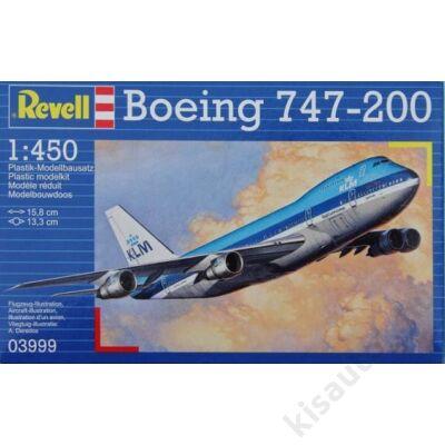 Revell 1:450 Boeing 747-200 repülő makett