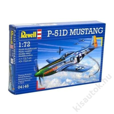 Revell 1:72 P-51D Mustang repülő makett