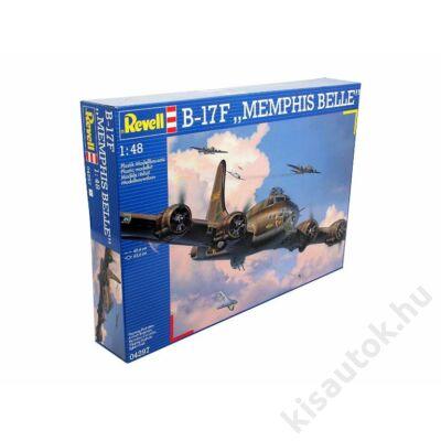 "Revell 1:48 B-17F ""Memphis Belle"" repülő makett"