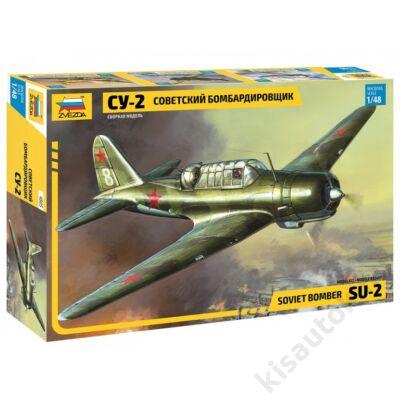Zvezda 1:48 Soviet Bomber SU-2