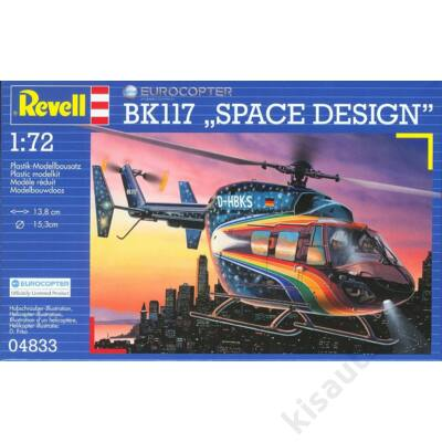 "Revell 1:72 Eurocopter BK117 ""Space Design"""