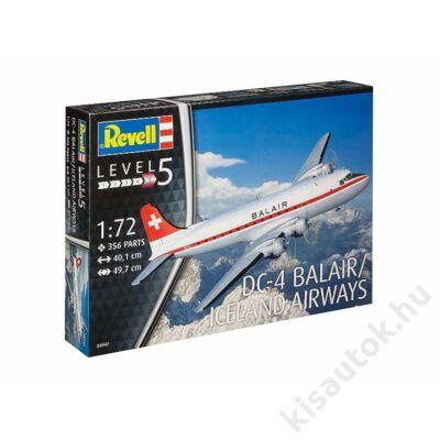 Revell 1:72 Douglas DC-4 Balair / Iceland Airways