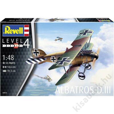 Revell 1:48 Albatross DIII repülő makett
