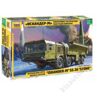 "Zvezda 1:72 Russian Ballistic Missily System ""Iskander-M"" SS-26 ""Stone"""
