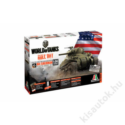 Italeri 1:56 M4 Sherman WORLD of TANKS